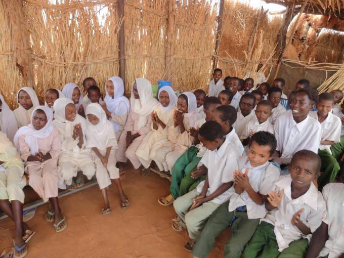 The Children during the consultation workshop - Sout Kordofan State, Sudan