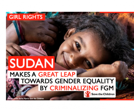 Sudan makes a great leap towards Gender Equality by criminalizing FGM